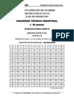 Iti Examen 1º Ejercicio Respuestas 2010