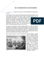 Pirateria y Corsarios en El Golfo de Mexico