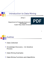 Intro Duct In to Data Mining