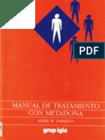 Manual de tratamiento con metadona