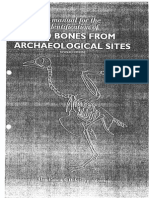 Cohen & Serjeantson 1996 Manual for the Identification of Bird Bones From Archaeological Sites