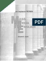 Mass Media English