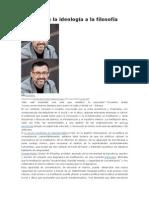 2010-Politica de La Ideologia a La Filosofia-A Gutierrez Rubi