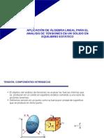 Aplicación de Álgebra Lineal Para El Ánalisis de Tensiones en Un Sólido en Equilibrio Estático