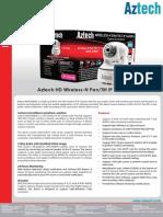 Aztech WIPC408HD DataSheet