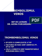 Curs 6 - Tromboembolismul Venos