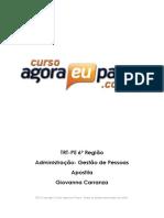 AEP_ TRT 6a Regiao Analista Judiciario Area Judiciaria_ Administracao_ Giovanna Carranza