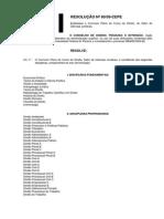 Currículo Novo Resolucao 60 09 Cepe Direito