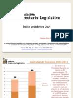 Índice Legislativo 2014 (05.01.2015)