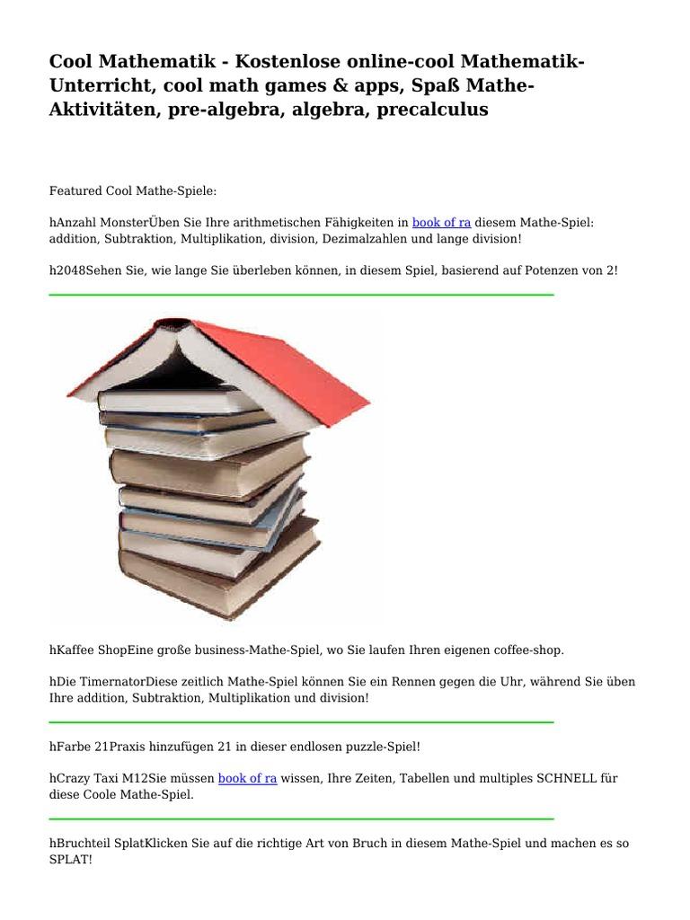 Cool Mathematik - Kostenlose online-cool Mathematik-Unterricht, cool ...