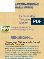 Guru Baharu (PPBG) 25Feb 2014 Mentor