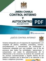 Control Interno y Autocontrol