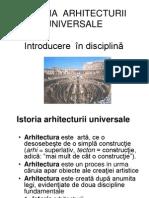 1. Istoria arhitecturii