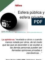 Opinion Esf Publica y Privada