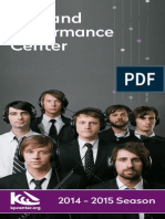 Kirkland Performance Center - Season Brochure 14-15 for Print