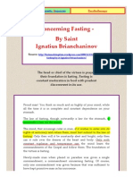 Concerning Fasting-ignatius Brianchaninov