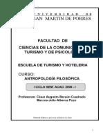 Separata I CICLO Antropologia Filosófica