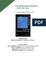 The Montana Mathematics Enthusiast ISSN 1551-3440