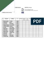 Instituto Universitario de Educación Especializada Lista