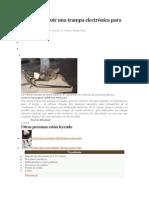 Cómo construir una trampa electrónica para ratones.docx