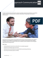 Consultative Approach Communication Skills