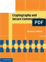 Blahut Cryptography