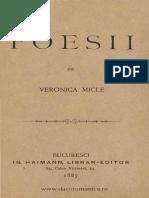 Veronica Micle Poezii
