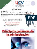 SESIÓN 4 PRINCIPIOS DE ADMINISTRACIÓN
