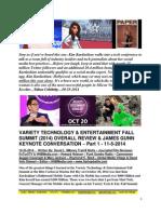 Variety Technology & Entertainment Fall Summit 2014  Overall Review & James Gunn Keynote Conversation - Part I - FuTurXTV & HHBMedia.com - 10-25-2014.pdf
