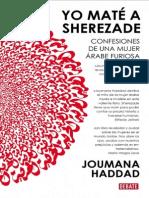 Yo Maté a Sheherezade - Joumana Haddad