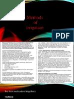 7 Methods of Irrigation(Ppt)
