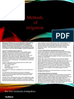 7 Methods of Irrigation(Ppt)