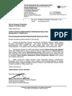 Surat Siaran SPS Bil 21-2014