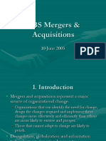 Mergers and Acquisitions study notes