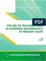 6. the Use of Teaching Aids in Learning Mathematics in Primary School