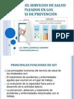 5.2.Clase IV Función Del Servicios de Salud en Los Empleados