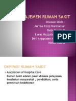 Manajemen Rumah Sakit Kelas D