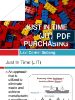 Just in Time (JIT) Purchasing