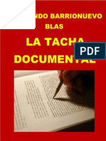Libro La Tacha Documental