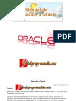 Manual de Iniciación a Oracle