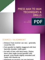 Press Man to Man Techniques Drills Clinic Talk