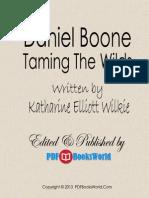 Daniel Boone by Katharine Elliott Wilkie