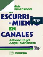 Libro de Analisis de Escurrimiento en Canales