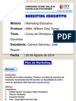 Plan de MKT Educativo