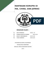 Pemberantasan Korupsi Di Singapura, China Dan Jepang