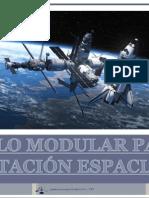 Suelo modular para estación espacial