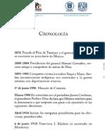 Cronología Revolución Mexicana