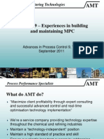 Mon 16.35 Experiences in Building and Maintaining MPC SG AMT