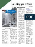 Pilcrow and Dagger Sunday News 1-11-2015