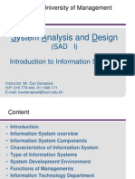 1- Introduction to Information System